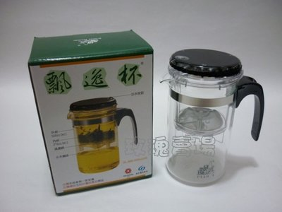 (玫瑰Rose984019賣場~2)台灣製原廠正品~多用途玻璃沖泡壺~飄逸杯(GL-888)1000cc~泡茶沖泡簡單 新北市