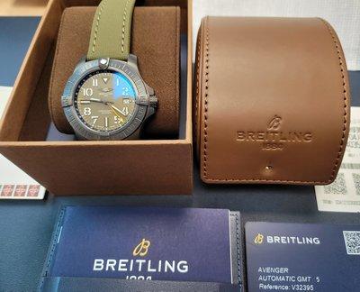 百年靈 Breitling Avenger Automatic GMT 45 Night Mission [台灣公司貨]