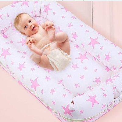 便攜式床中床初生寶寶嬰兒床兒童床布藝床墊新生兒床  ys2270