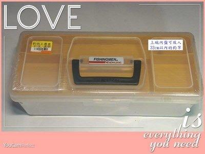 《釣魚釣蝦趣》釣翁 工具盒(大) 610L 手提 工具盒  手提 釣具零件盒 收納盒 置物盒 釣竿盒