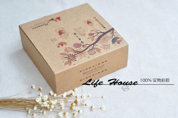 月餅盒 4粒 63- 80g 鳥語 牛皮紙盒 蛋黃酥 月餅  餅乾 中國風 中秋節 烘焙包裝盒 西點盒 餅乾盒 包裝盒