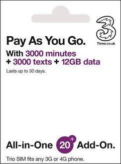 3UK 30天 全球74國 12GB超大容量 歐洲 美洲 紐澳 東南亞 上網卡