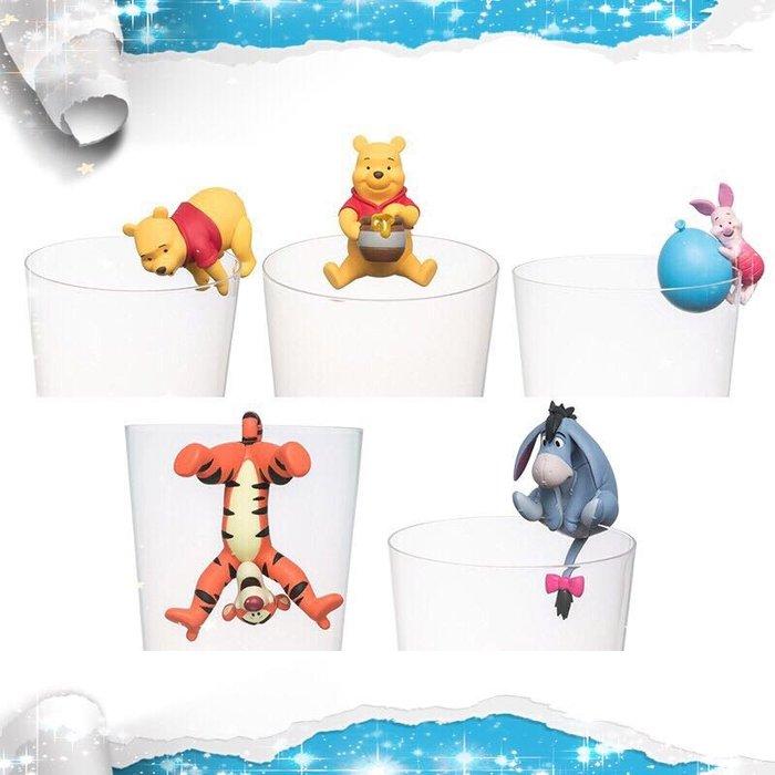 驢子 瑞比 杯緣子 公仔 擺件 Disney 迪士尼 小熊維尼 Winnie 維尼熊 跳跳虎 小豬 屹耳 維尼 好伙伴 好朋友 玩具 盒玩 克里斯多福.羅賓