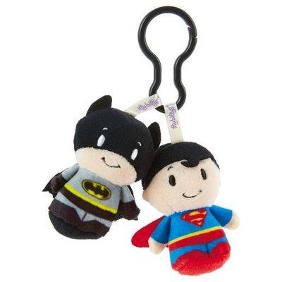 預購 美國 Hallmark BATMAN and SUPERMAN Q版超人+蝙蝠俠 包包掛飾 娃娃 吊飾 療癒小物