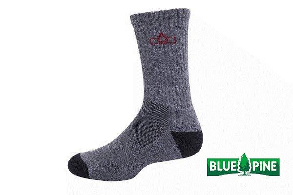 (登山屋) BLUE PINE COOLMAX厚登山襪 型號:B61721 深灰