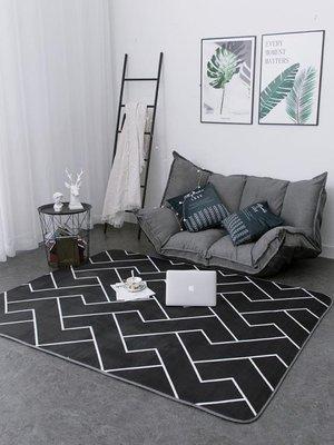 北歐地毯臥室滿鋪可愛房間ins風網紅客...