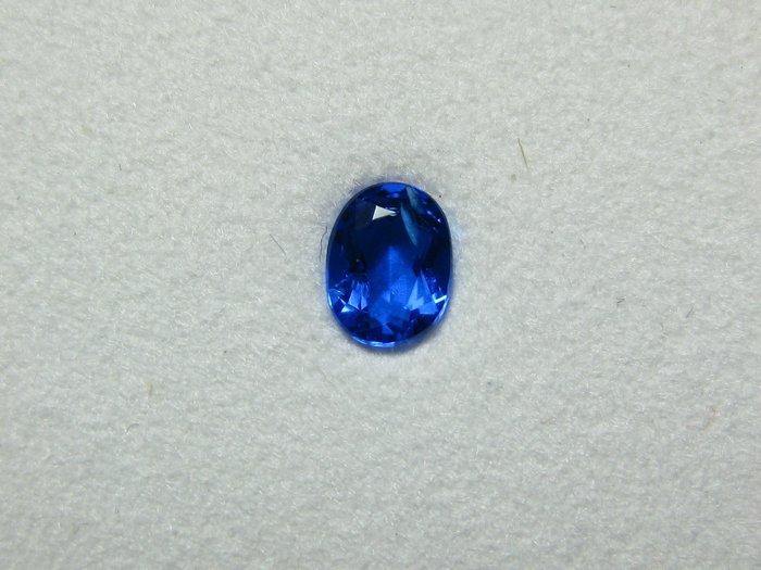 【Texture & Nobleness 低調與奢華】天然無處理 高品質AAA 稀有 罕見 藍方石 0.24克拉