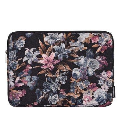 手拿包帆布電腦包-多彩繽分花卉印花女包包73vy29[獨家進口][米蘭精品]