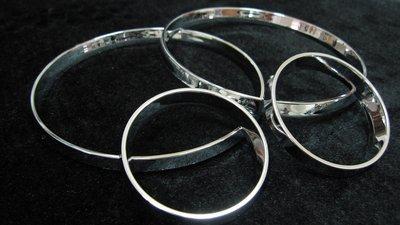 《達克冷光實體店面》K9 金屬銀儀表環