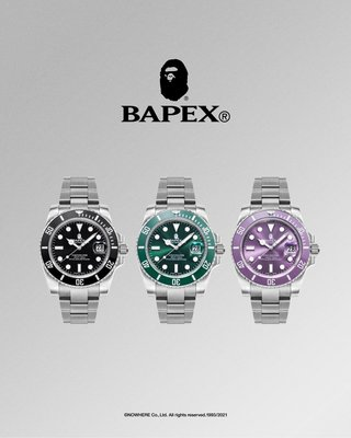 BAPEX TYPE 1 手錶 A BATHING APE BAPE。太陽選物社