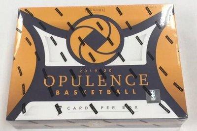 2019-20 Panini Opulence Basketball Factory Sealed Hobby Box 金國寶 卡盒 一盒