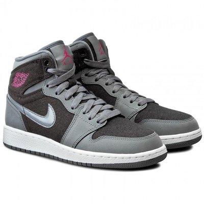 【西寧鹿】Air Jordan 1 Retro High OG 332148-002 女 灰粉 運動鞋 NI002