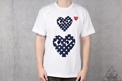 【HYDRA】Comme Des Garcons Polka Dot Heart Tee 點點 愛心【CDG08】