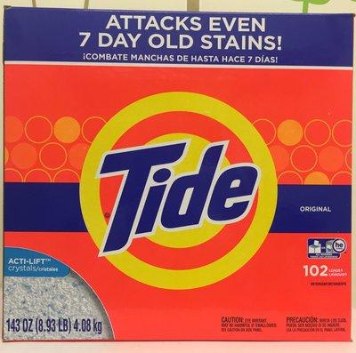 【佩佩的店】COSTCO 好市多 Tide 汰漬 濃縮強效洗衣粉 超濃縮洗衣粉 4.08 kg/盒 新莊可面交
