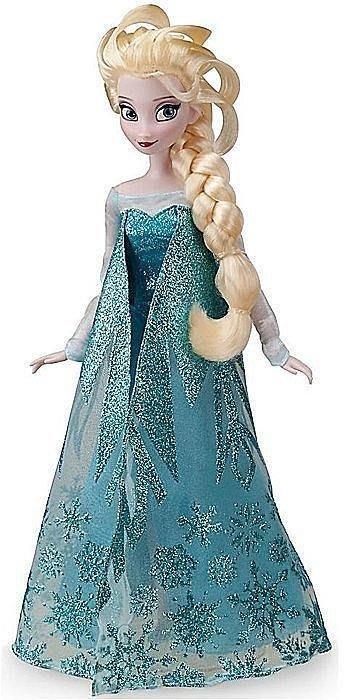 【100%美國迪士尼正品】Disney Princess 冰雪奇緣 Elsa 愛紗公主 芭比娃娃 玩偶