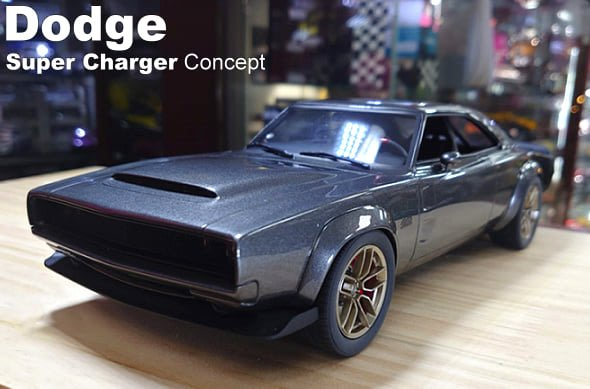 模型車收藏家。Dodge Super Charger Concept。可分期