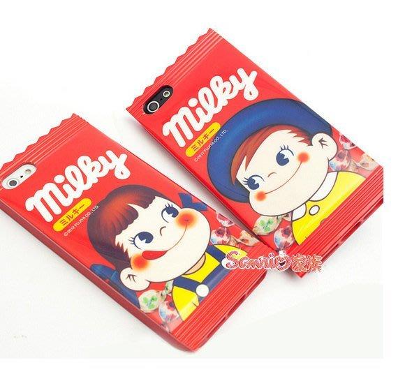 東京家族  特價 正版 不二家 牛奶弟 peko 正品正版 i phone5手機殼 手機套 保護套 現貨
