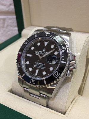 「已交流」Rolex 勞力士 2019年9月 116610LN 黑水鬼 女用一手錶 非 綠水鬼 116710 126710 116500