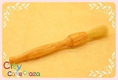 ~附發票~【城市咖啡廣場】 柚木毛刷 好看又好用 毛刷超彈力 不易脫毛
