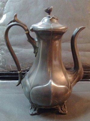 229 高級英國維多利亞不列顛壺Antique Silver Plate Tea Pot