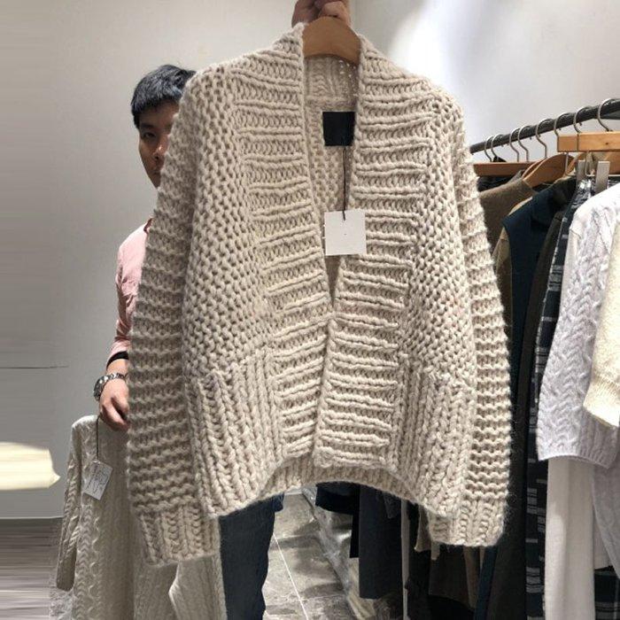❤Princess x Shop❤慵懶風開衫寬鬆針織外套上衣TO6-90-5