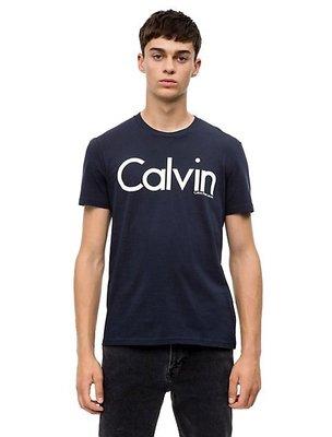 【100%實拍】現貨正品 Calvin Klein Jeans CK 深藍色 大logo 短Tee T-shirt 短袖 高雄市