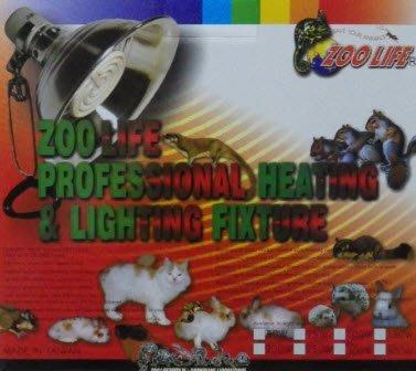 【貝多樂】ZOO LIFE陶瓷保溫100W套組+350w雙電調溫器(兔用保溫)