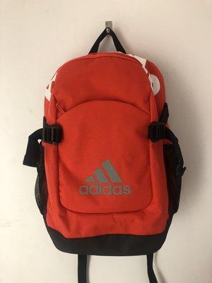 ADIDAS 橘紅 運動 休閒 雙肩 背包 書包 小背包 水壺袋 後背包 DN3500 愛迪達 請先詢問庫存