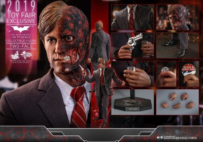 HOT TOYS MMS546 TWO FACE 雙面人 2.0