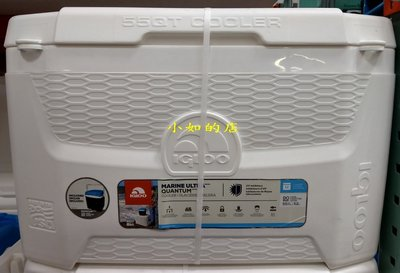 【小如的店】COSTCO好市多代購~美國進口 IGLOO 52公升+11公升冰桶/行動冰箱(上蓋設有杯架)全新