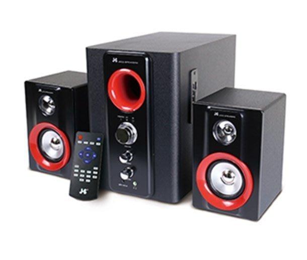 [ 邁克電腦 ] JS 淇譽 JY3064 2.1聲道 全木質 藍牙喇叭 多媒體喇叭 JY-3064