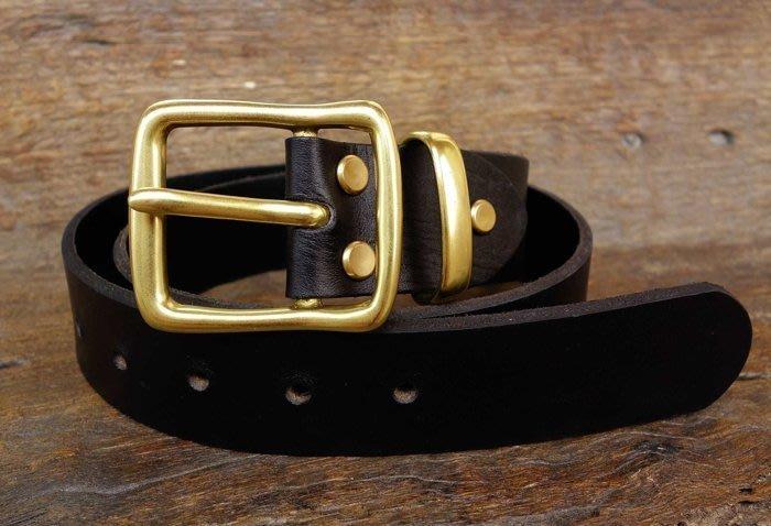 針扣 純銅 TYB144 內徑4CM 皮帶頭 皮帶扣 針扣 皮帶配件 皮雕diY 皮革材料