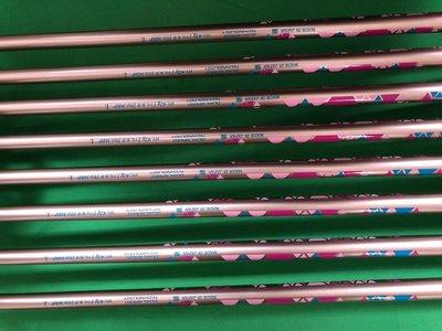 XXIO/xx10 MP1100高爾夫球桿 女用鐵桿組 8支裝紅豆