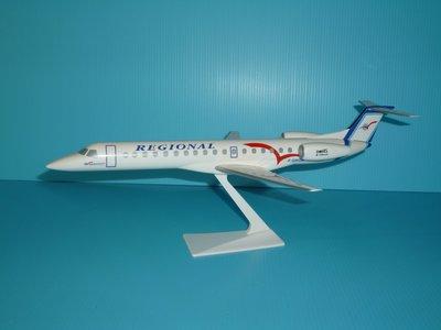 珍上飛模型飛機:ERJ-145 (1:100)REGIONAL(編號:ERJ14512)