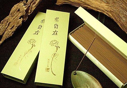 圓滿宗教文物 法藏香雲  自在 惠安沉 7寸臥香 線香 SGS檢驗合格天然無毒香品