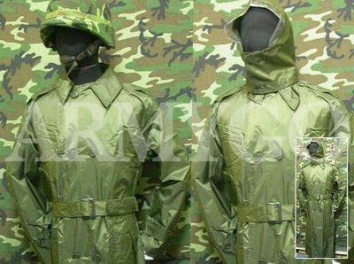 【ARMYGO】國軍制式軍官雨衣