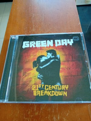 GREEN DAY 年輕歲月合唱團 21ST CENTURY BREAKDOWN 世紀大崩解CD只拆封