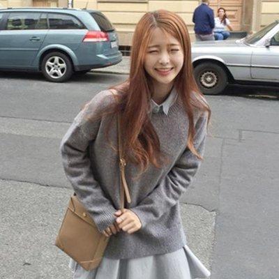 秋季女裝新款韓版長袖內搭針織毛衣襯衫裙子兩件套套裝女秋冬
