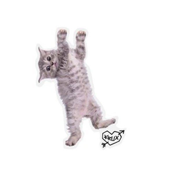 〔Bigforty〕KRUX KITTY HANGER CLEAR MYLAR STICKER 滑板 貼紙