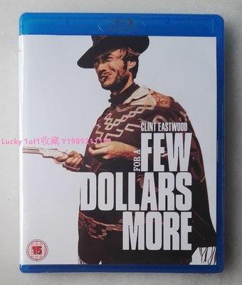 Lucky 1of1收藏正版藍光 For a Few Dollars More 黃昏雙鏢客 全區英字