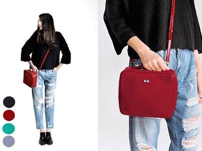 HAPPY+【V5077】 皮革手提 斜挎包 單肩包 手提包四款 幾何 PU 斜跨包 創意 清新 單肩 包潮 女包包