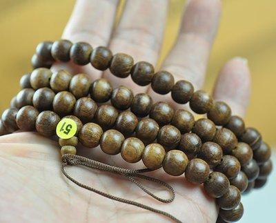 宋家苦茶油nathanagarALL.51越南芽莊黑老虎奇楠108顆手珠10mm..42.5克
