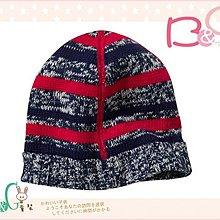 【B& G童裝】正品美國進口OLD NAVY Sweater Caps for Baby內裡棉紅藍條紋針織毛線帽6-12,12-24mos