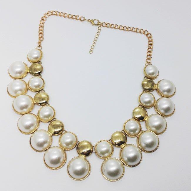 歐美女 珍珠項鍊 配飾 婚禮項鍊