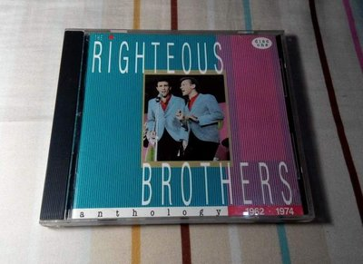 NO292 二手雙CD正義兄弟1962-1974 Righteous Brothers Anthology 699元起標