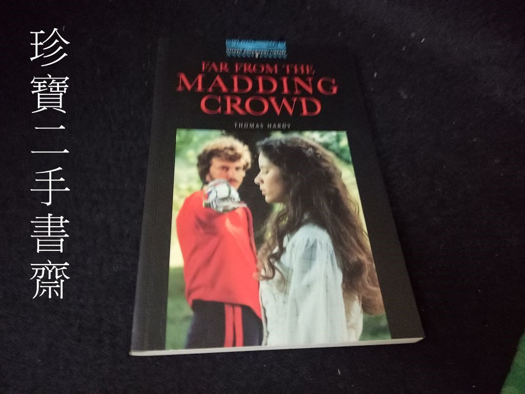 【珍寶二手書齋Fm18】Far from the Madding Crowd ISBN:0194230643