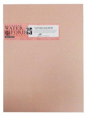 【Artshop美術用品】英國 山度士 WATERFORD 超白水彩本 190g (8K) 膠裝12入 #20