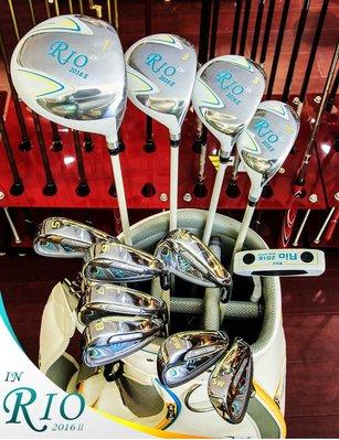高爾夫球杆PGM 499起!送手套 高爾夫球桿 女士中端套桿 12支裝全套送衣物包