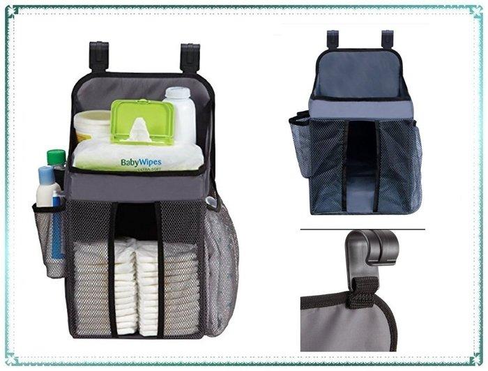現貨_美國 Dex Baby Nursery Organizer 尿布收納袋 尿布置物袋 掛勾式【Q寶寶】