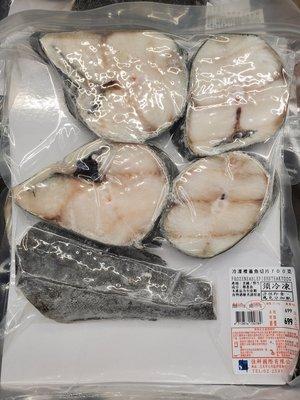 【小如的店】COSTCO好市多代購~美國野生阿拉斯加冷凍裸蓋魚切片-銀鱈(每包約0.74g)